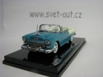 Chevrolet Bel Air Open Convertible 1955 Green Creme 1:43 Vitesse